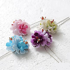 Paparazzi - 花形垂飾髮簪