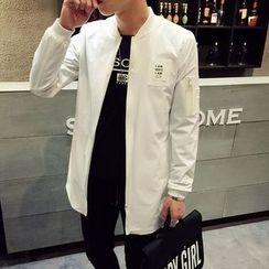 MEING - Applique Long Jacket