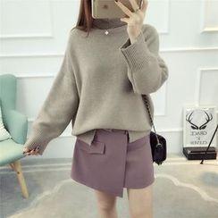Dream Girl - Turtleneck Knit Top