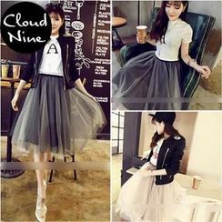 Cloud Nine - Tulle Midi Skirt
