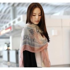59th Street - Architecture Print Scarf