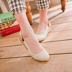 Pastel Pairs - Buckled Flats