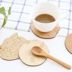 Cute Essentials - Animal Wooden Coaster