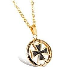 Tenri - Cross Pendant Necklace