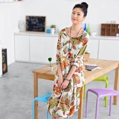 59 Seconds - Floral Maxi Dress