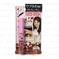 BCL - Makemania Data Eyebrow Mascara (Pink Brown)
