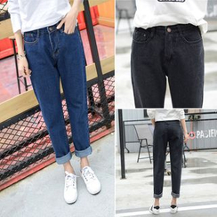 Enocula - Slim-Fit Cropped Jeans