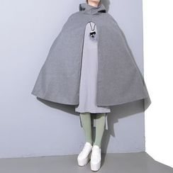 Ultra Modern - Plain Hooded Cape
