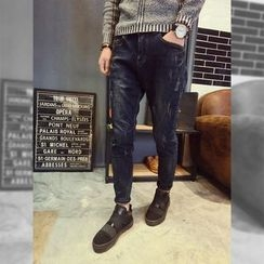YONDER - Fleece-Lined Slim-Fit Jeans