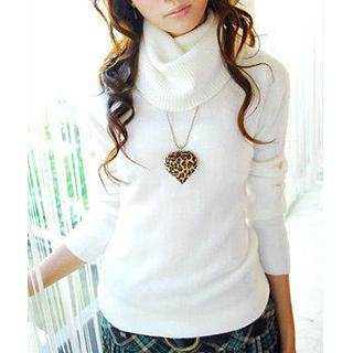Tokyo Fashion - Cowl-Neck Sweater