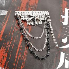 Trend Cool - Star Chain Brooch