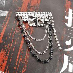 潮野 - 星星链条胸针