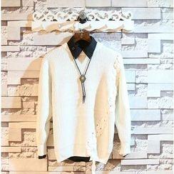 Sundipy - Tie-Up Sweater