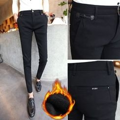 Orizzon - Fleece-Lined Slim-Fit Pants