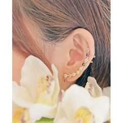 Miss21 Korea - Rhinestone Ear Cuff (Single)