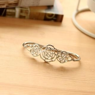 Petit et Belle - Rose Filigree Palm Bracelet