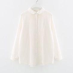 Meimei - 打褶裥衬衫
