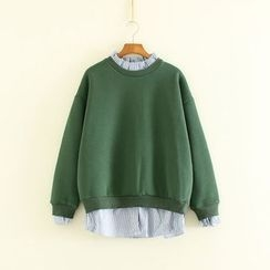 Mushi - Mock Two Piece Sweatshirt