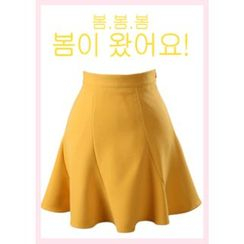 Chlo.D.Manon - A-Line Mini Flare Skirt