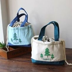 Ms Bean - Tree Printed Canvas Lunch Bag