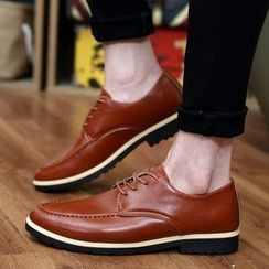 Muyu - Faux Leather Oxfords