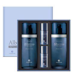 Charm Zone - Topnews Albatross Set: Aftershave Toner 130ml + 25ml + Moisture Fluid 130ml + 25ml