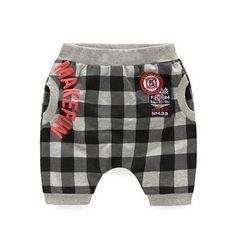 WellKids - 小童格子短裤