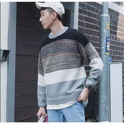 优凡士品 - 撞色毛衣