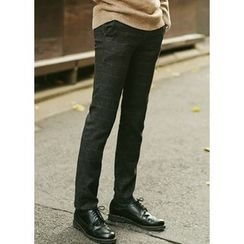 JOGUNSHOP - Check Slim-Fit Pants