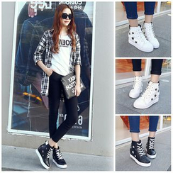 Sunsteps - Star High-top Sneakers