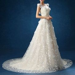 LYRA - Open Back Ball Gown Wedding Dress