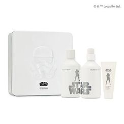 菲诗小铺 - The Fresh For Men Set (Star Wars Edition): Toner 150ml + Emulsion 140ml + Mild Cleansing Foam 30ml