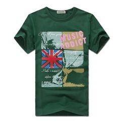 MR.PARK - Short-Sleeve Union Jack T-Shirt