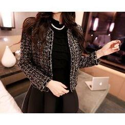Marlangrouge - Glittered Tweed Jacket