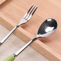 Yulu - 不鏽鋼勺子 / 叉子