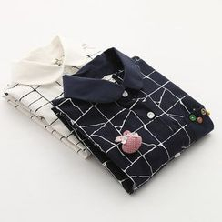 Angel Love - Print Linen Shirt