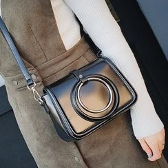 Youshine - Metal Ring Detailed Crossbody Bag