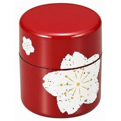 Hakoya - Hakoya Tea Caddy Sakura Red
