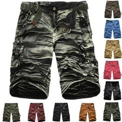 Constein - Plain Cargo Shorts