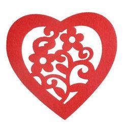ioishop - Set of 2: Love Heart Coaster