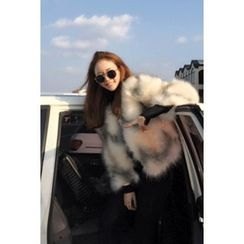 migunstyle - Faux-Fur Jacket