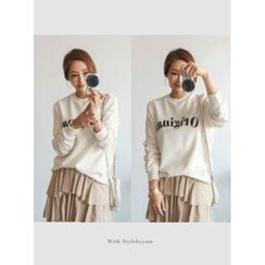 STYLEBYYAM - Lettering Sweatshirt