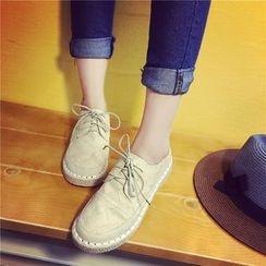 Wello - 繫帶平跟鞋