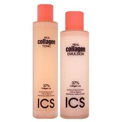 HANBUL - ICS Real Collagen Set: Tonic 180ml + Emulsion 140ml