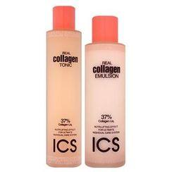 HANBUL - ICS Real Collagen Set: Tonic 180ml + Emulsion 140ml