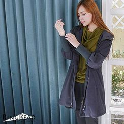 RingBear - Woolen Hooded Coat
