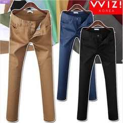 WIZIKOREA - Colored Skinny Pants