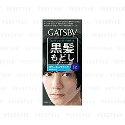 Mandom 漫丹 - Gatsby Hair Color Remake (Smoky Black)