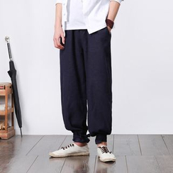Shop Men's Wide-Leg Pants Online | YesStyle
