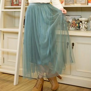 CatWorld - Mesh Long Skirt